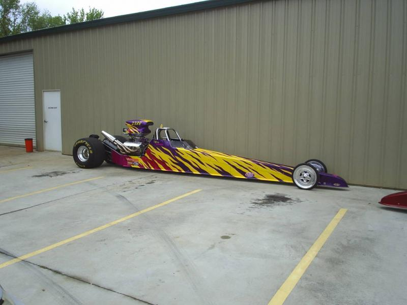 2001 Undercover Dragster